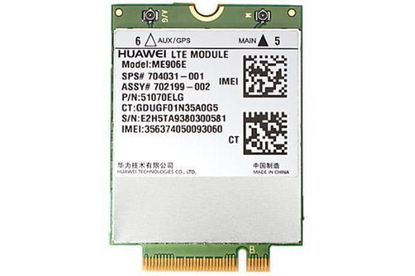 HP (E5M74AA) lt4112 LTE/HSPA+ 4G Mobile Broad Card - for 445 G1