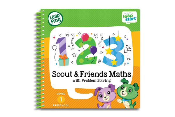 LeapFrog LeapStart Scout and Friends Maths Activity Book