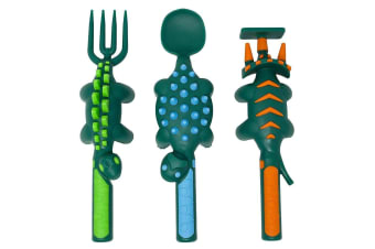 Constructive Eating Dinosaur 3-piece Utensil Set