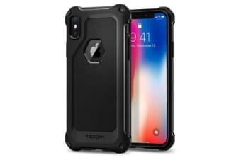 Spigen iPhone X Rugged Armor Extra Case Black