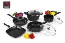 Ovela 8 Piece BlackStone Non-Stick Induction Cookware Set