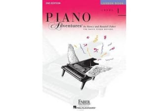 Piano Adventures - Level 1 - Lesson Book (2nd Edition)