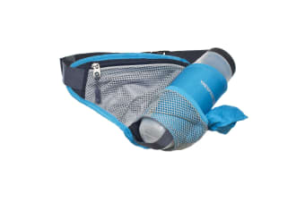 Trespass Adults Wadi Bumbag With Water Bottle (Aegean) (One Size)