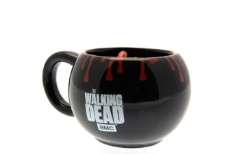 The Walking Dead Official 3D Mug (Black/Red) (One Size)