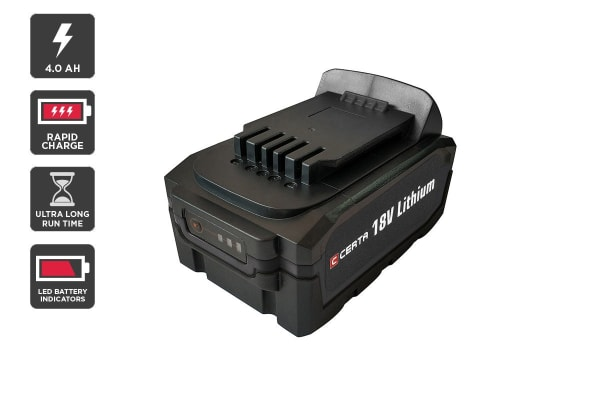 Certa PowerPlus 18V 4.0Ah Lithium Battery