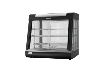 Commercial Food Warmer Hot Pizza Pie Display Showcase Buffet Cabinet