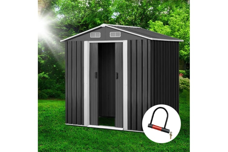 Garden Shed 1.95x1.25M Outdoor Storage Sheds Tool Workshop