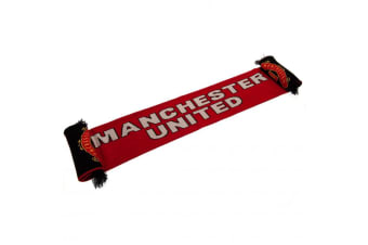 Manchester United FC Scarf (Red)