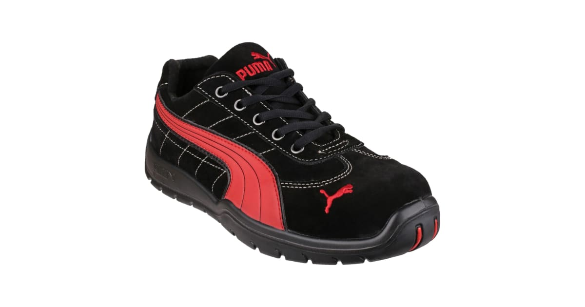 Puma Safety Silverstone Low Mens Safety Trainers (Black) (43 EUR) | Shoes |