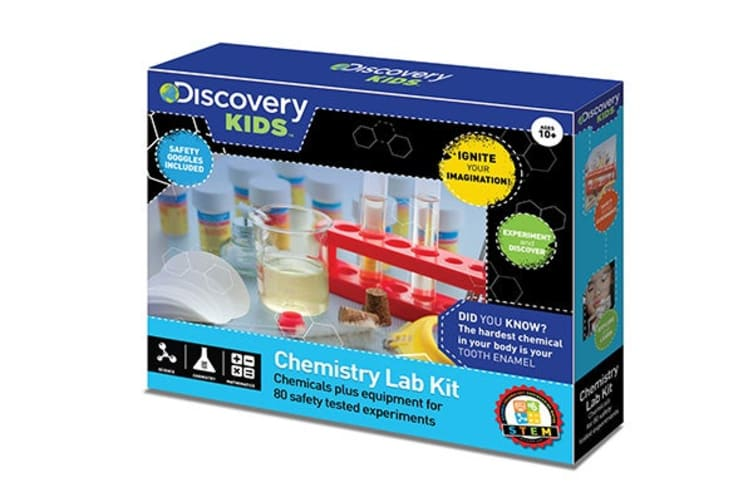 Discovery Kids Chemistry Lab Kit 80 Experiments