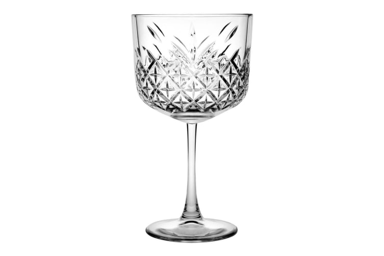 12pc Pasabahce Timeless 500ml Clear Gin & Tonic Wine Glasses Party Alcohol Glass
