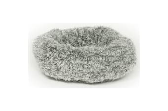 Danish Design Pet Products Fluffy Cat Cushion Bed (Grey)