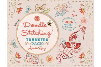Doodle Stitching Transfer Pack - 300+ Embroidery Patterns