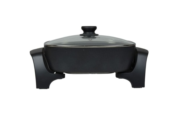 Westinghouse 30cm Electric Square Fry Pan - Black