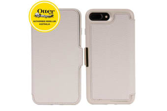 Otterbox Strada Folio Case Cover Protection for Apple iPhone 8+/7 Plus Soft Opal