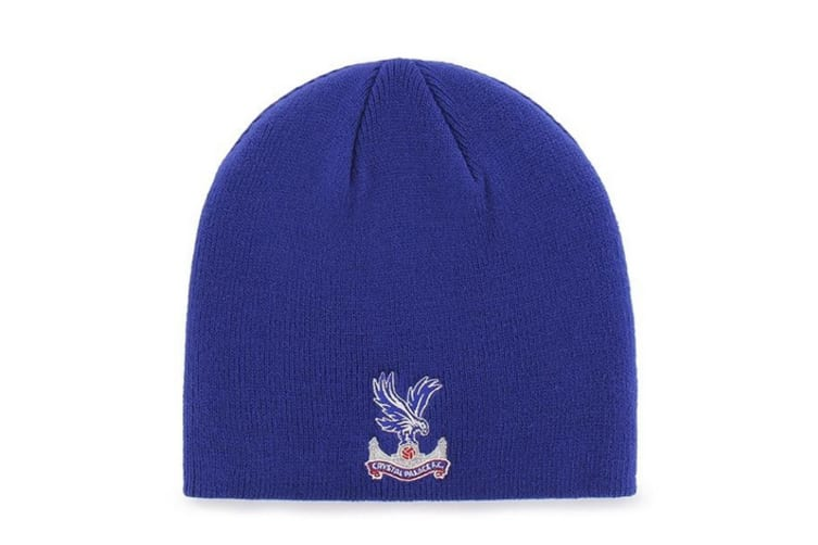 Crystal Palace Beanie Knitted Hat (Royal Blue) (One Size)