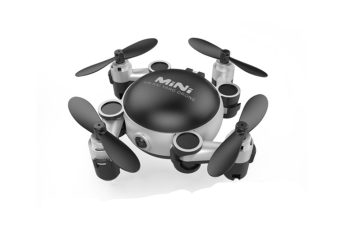 Quadcopter 5 In 1 Mobile Lens ,9X Macro Lens+0.4X 0.63X Super Wide Angle Lens+180▲ Fisheye Lens Black Silver