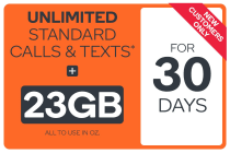 Kogan Mobile Prepaid Voucher Code: EXTRA LARGE (30 Days | 23GB) - New Kogan Mobile Customers Only