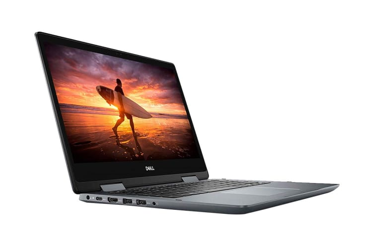 """Dell Inspiron 14 5000 14"""" Convertible 2-in-1 Touch Screen Laptop (i3-8145U, 4GB RAM, 128GB) - Certified Refurbished"""