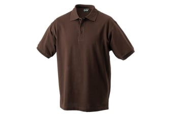 James and Nicholson Childrens/Kids Classic Polo (Brown)