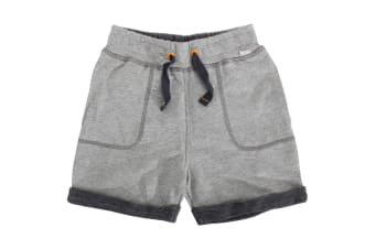 Bench Childrens/Boys Alo Casual Cotton Shorts (Grey) (3-4 Years)