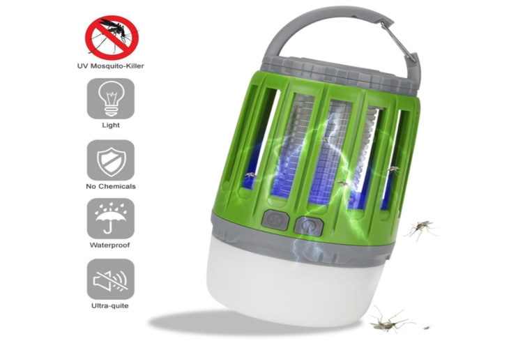 2-in-1 Mosquito Killer Camping Light(GREEN)