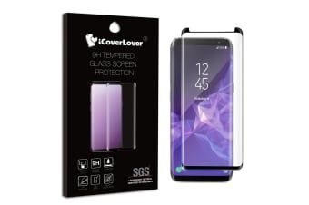 For Samsung Galaxy S9 3D Full Screen Tempered Glass Screen Protector iCoverLover