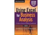 Using Excel for Business Analysis - A Guide to Financial Modelling Fundamentals