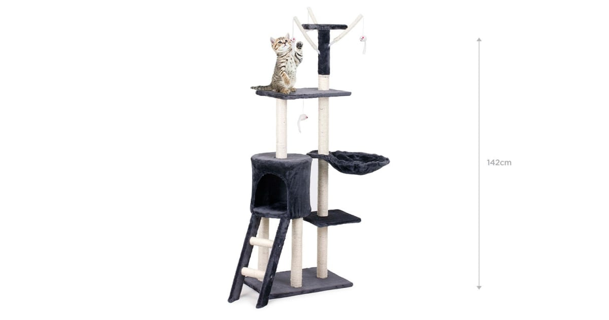 Pawever Pets Cat Scratching Post Tree