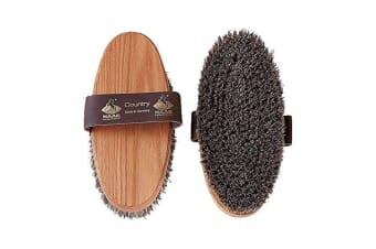 Haas Country Body Brush (Natural) (One Size)