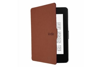 ULTRA SLIM COVER CASE FOR Kindle 8th Gen-Brown