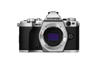 New Olympus OM-D E-M5 Mark II Mirrorless Body Digital Camera Silver (FREE DELIVERY + 1 YEAR AU WARRANTY)