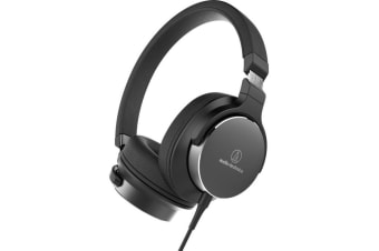 Audio-Technica ATH-SR5 On-Ear Headphones (Black)
