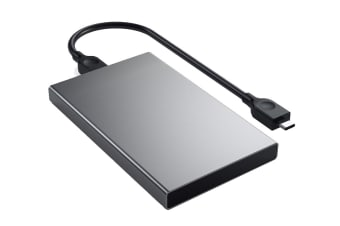 Satechi Aluminum Type-C HDD / SSD Enclosure (Space Gray)