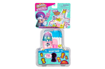 Shopkins Lil Secrets Cool Scoops Cafe Mini Playset