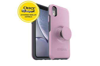 OtterBox Pop Holder Symmetry Case/Cover Drop Proof for iPhone XR Marvellous Pink