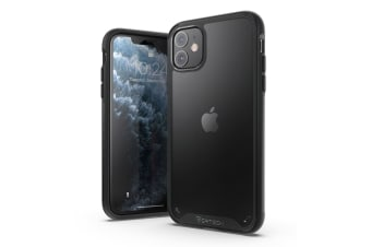 VERTEch Ultra Hybrid ShockProof Slim Hard Cover for iPhone 11-Black