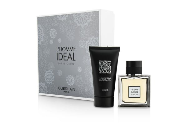 Guerlain L'Homme Ideal Coffret: Eau De Toilette Spray 50ml/1.6oz + Shower Gel 75ml/2.5oz (2pcs)