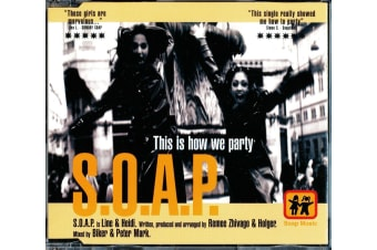 S.O.A.P. – This Is How We Party BRAND NEW SEALED MUSIC ALBUM CD - AU STOCK
