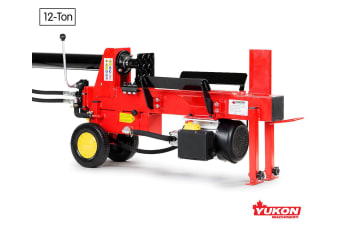 Yukon Electric 12 Ton Log Splitter Wood Cutter
