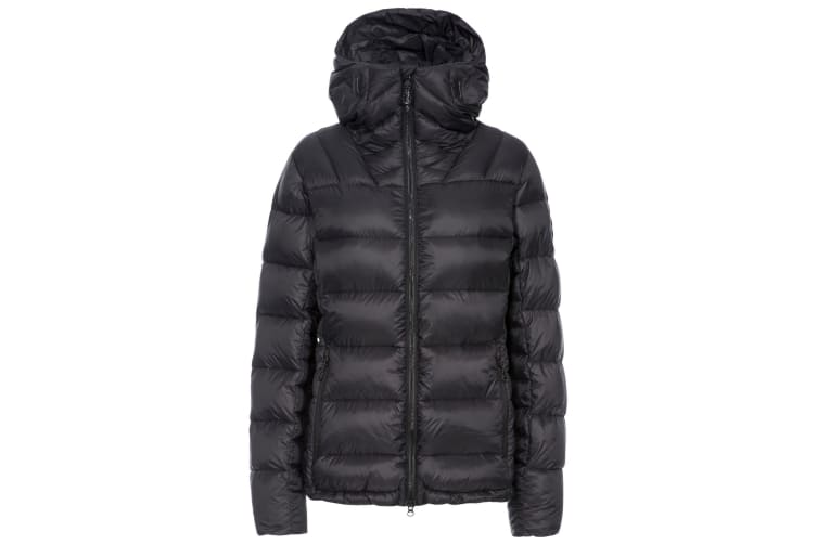 Trespass Womens/Ladies Pedley Down Jacket (Black) (S)