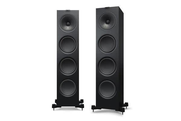 "KEF Floor standing Speaker. Two and half-way bass reflex. Uni-Q array: 1 x 8"" uni-q"