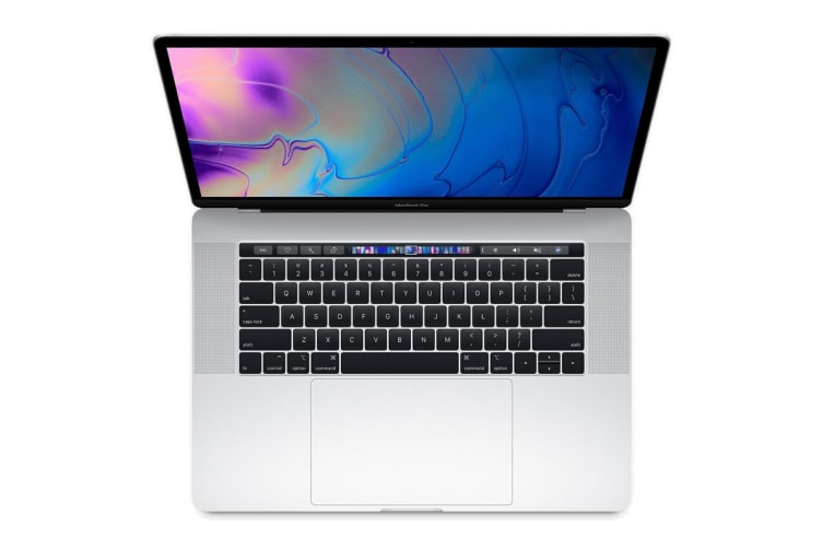 """Apple Macbook Pro 15.4"""" 2018 2.2Ghz with Touch Bar 256GB - Silver"""