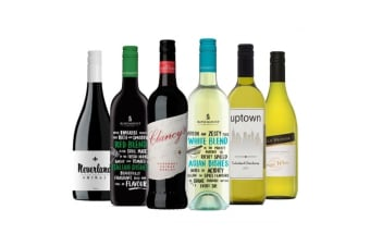 Assorted Red & White Mixed Wine (6 Bottles)