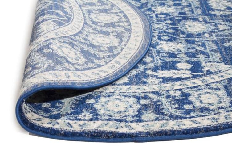 Release Navy Transitional Rug 200x200cm