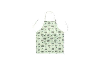 Waterproof Apron For Kitchen Cooking Bbq Crafting Drawing - Green Green