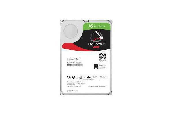 SEAGATE 8TB IRONWOLF PRO ENT NAS HDD 3.5in INTERNAL SATA 6GB/S 7200RPM 256MB CACHE