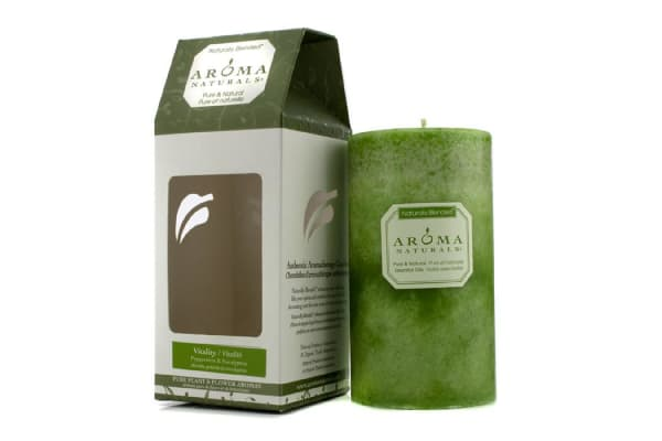 Aroma Naturals Authentic Aromatherapy Candles - Vitality (Peppermint & Eucalyptus) ((2.75x5) inch)