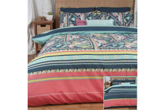 Gypsy Reversible Quilt Cover Set by Apartmento