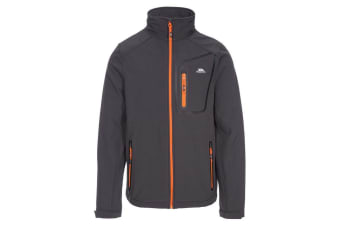 Trespass Mens Hotham Softshell Jacket (Dark Grey) (L)